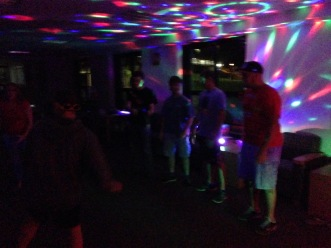 Black Light Dance Party!